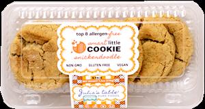 Julia's Table Cookies Reviews and Info - Gluten-Free, Top Allergen-Free, Vegan, and School Safe