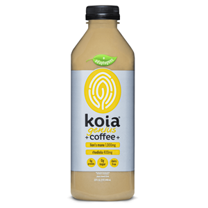 Koia Coffee Drinks Reviews and Info - Adaptogen line with herbs, MCT oil, and plant-based protein - all dairy-free, gluten-free, and allergy-friendly