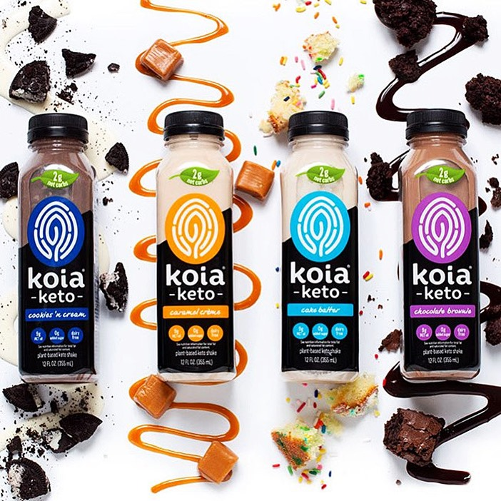 Koia Keto Drinks Reviews and Info - High Fat, Low Carb, No Sugar, Dairy Free, and Rich in Plant-Based Protein and MCT