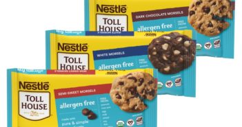 Nestle Tollhouse Allergen Free Morsels - dairy-free, gluten-free, nut-free, soy-free, vegan, organic chocolate chips! In two varieties.