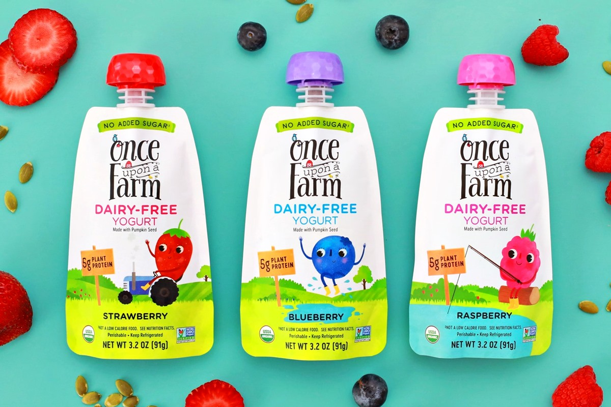One Upon a Farm Dairy-Free Yogurt Pouches Reviews and Info - Vegan, Top Allergen-Free, and Added Sugar-Free - plus no coconut!!