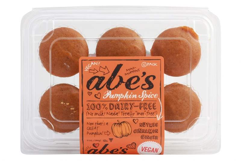 Over 60 Dairy-Free Pumpkin Spice Sweets, Snacks, and More! Pictured: Abe's Pumpkin Spice Mini Muffins