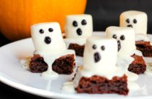 Dairy-Free Ghost Brownies Recipe with Options for Gluten-Free, Vegan, and Top Food Allergy Friendly