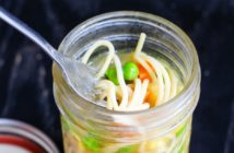 """DIY Dairy-Free Instant Noodle Cups Recipe - homemade """"cup of noodles"""" with dairy-free bases, vegan options, and gluten-free options."""