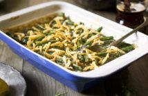 Dairy-Free Green Bean Casserole Recipe (Campbell's Copycat!) - it's also vegan and nut-free with gluten-free and soy-free options.