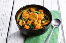 Plant-Based Caribbean Curry Recipe for Your Slow Cooker. This easy crockpot recipe is naturally dairy-free, gluten-free, allergy-friendly, vegan, and flavorful!