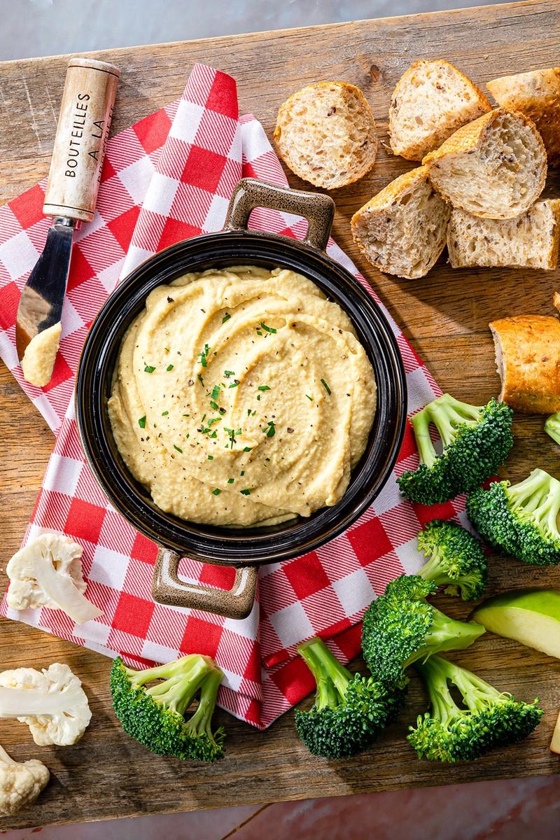 Dairy-Free Cheese Spread Recipe - Vegan, healthy, delicious.