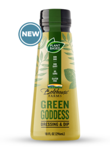 Bolthouse Farms Plant-Based Dressing and Dip in 4 Flavors - dairy-free garden ranch, green goddess, habanero blue and carrot miso - all natural, no additives