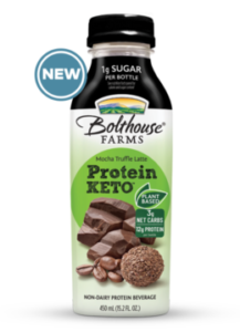 Bolthouse Farms Plant-Based Protein Keto Beverages Reviews and Info - Dairy-free, Vegan, No Sugar, Low Carb, High Fat Drinks in Cinnamon Horchata, Hazelnut Fudge, and Mocha Latte