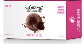 The Coconut Collaborative Lava Cakes Reviews and Info - Dark Chocolate Cakes with a gooey chocolate pudding in the middle. Vegan, gluten-free.