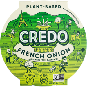 Credo Cashew Queso Reviews and Info (Dairy-Free, Plant-Based, Paleo, Keto) - available in four vegan flavors