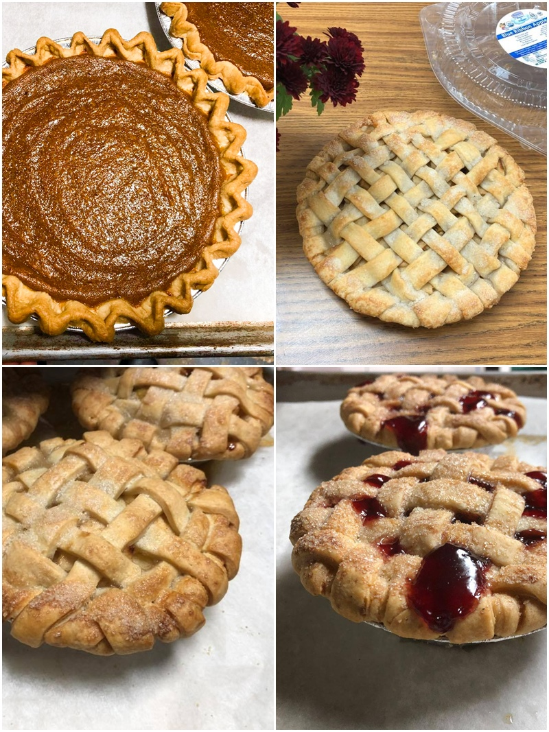 Organic Bread of Heaven Pies Reviews & Info - dairy-free, vegan, kosher pareve bakery making from-scratch pumpkin pies, apple pies, and more. Delivery throughout the U.S.