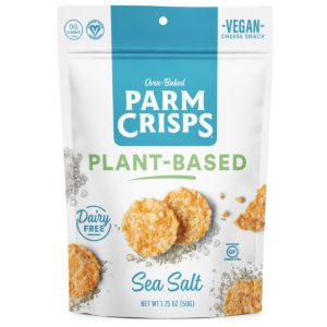 Plant-Based ParmCrisps Reviews and Info - Dairy-Free Cheese Crisps - also vegan!