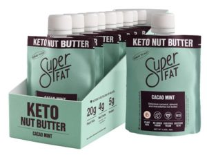 SuperFat Nut Butters Reviews and Info - Dairy-Free, Keto, Paleo, Soy-Free, Gluten-Free, and Fueled with Probiotics, MCT, Protein, and/or Superfood Ingredients