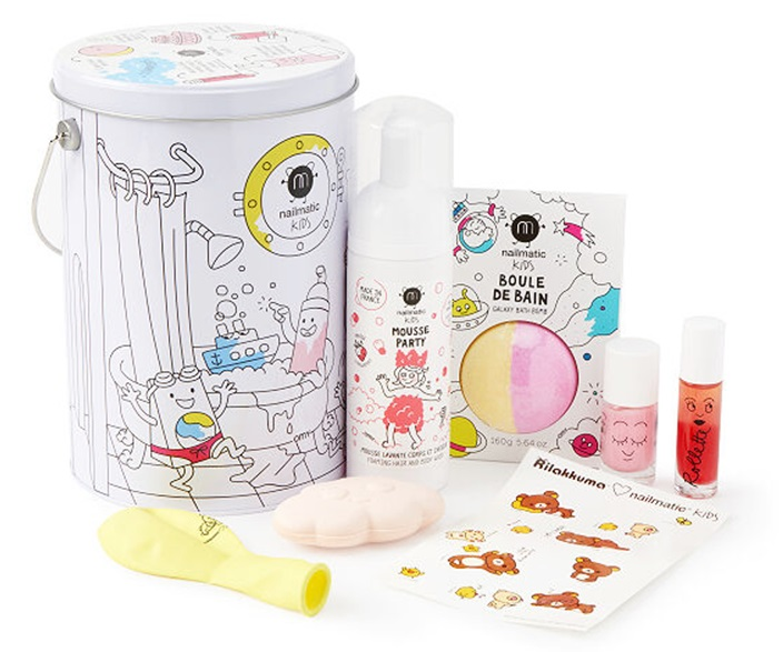 The Dairy-Free Gift Guide with Unique Ideas for Adults and Kids. Pictured: Nailmatic Kids Bath Party
