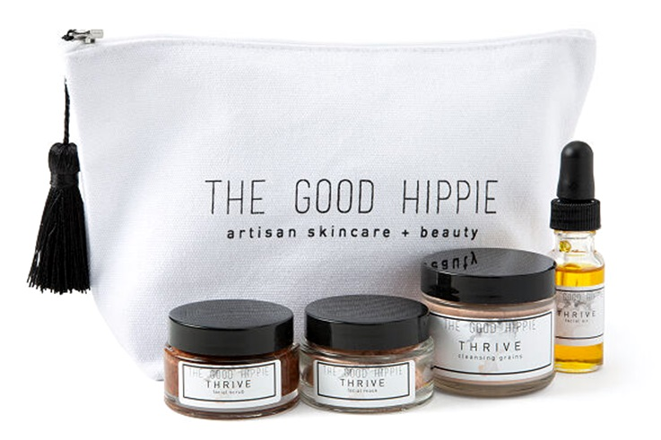 The Dairy-Free Gift Guide with Unique Ideas for Adults and Kids. Pictured: The Good Hippie Facial Set