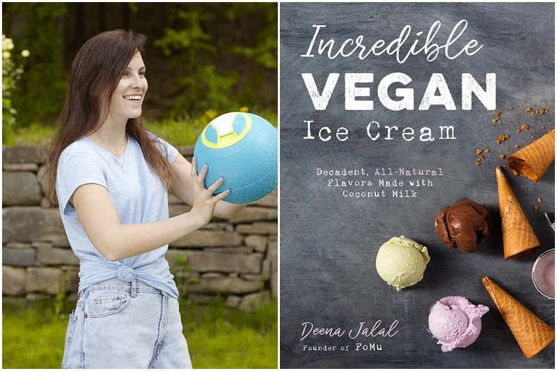 The Dairy-Free Gift Guide with Unique Ideas for Adults and Kids. Pictured: Ice Cream Maker Ball and Vegan Ice Cream Cookbook