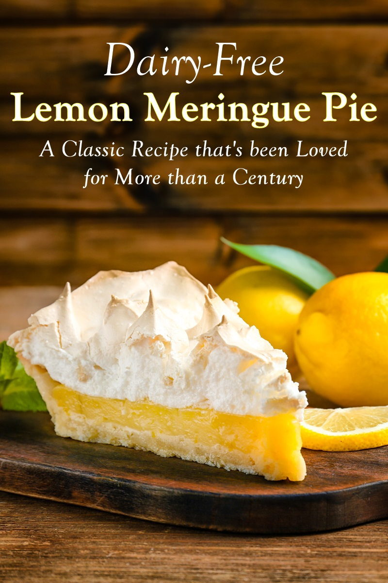 Classic Dairy-Free Lemon Meringue Pie Recipe Loved for Over 100 Years
