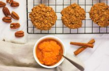 Oatmeal Pumpkin Spice Cookies Recipe - Dairy-Free, Gluten-Free, and Refined Sugar-Free