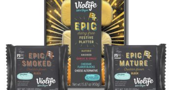 Violife Vegan Cheese Blocks Reviews and Info - Dairy-Free Cheddars, including their Seasonal EPIC Platter with Three Flavors
