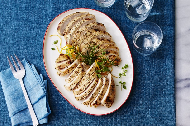 12 Turkey Breast Recipes for Smaller Thanksgiving and Christmas Feasts - all naturally dairy-free with gluten-free, nut-free, soy-free, and paleo options.