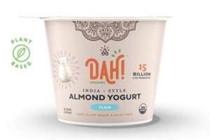 DAH! Almond Yogurt Reviews & Info - slow-cultured with 7 live and active bacterium to contain 15 billion probiotics. Dairy-free, soy-free, gluten-free, vegan.