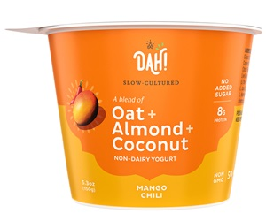 DAH! Oat Almond Coconut Yogurt Reviews and Info - Dairy-Free, Plant-Based, Soy-Free, and Vegan - Slow cultured with no added sugar - 50 billion probiotics