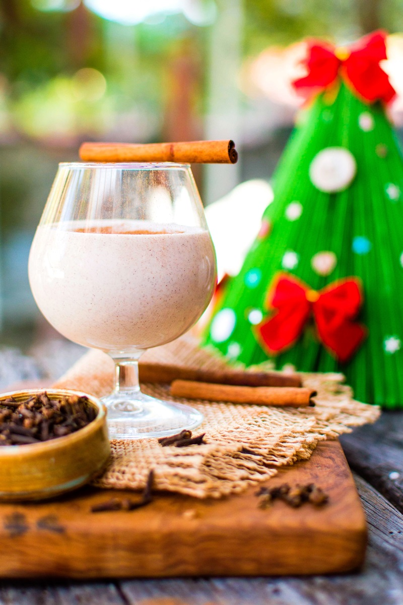 Vegan Eggnog Recipe that's Incredibly Creamy, Rich, and Delicious. Dairy-free, gluten-free, egg-free, and plant-based.