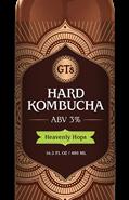 GT's Hard Kombucha Reviews and Info - dairy-free, vegan, kosher pareve, organic hard kombucha with low ABV and high probiotics