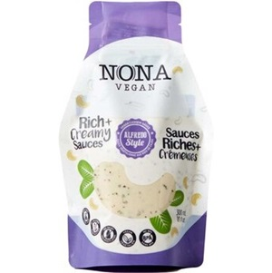 Nona Vegan Sauces Reviews and Information - Dairy-Free, Gluten-Free, Grain-Free, Paleo and Keto Friendly. Includes Alfredo, Carbonara, and Cheesy Style Sauces - Cashew-Based, Plant-Based, All-Natural.