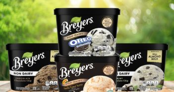 Breyers Non-Dairy Ice Cream Reviews and Info - Almond Milk Frozen Dessert that's dairy-free, vegan, and sold in large tubs. Now in FOUR flavors.