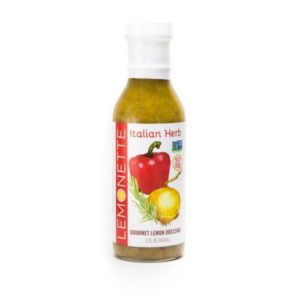 Lemonette Dressing Reviews and Info - 4 Mediterranean-inspired flavors, each sugar-free, gluten-free, top allergen-free, vegan, paleo, and friendly for many keto diets.