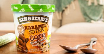 "Ben & Jerry's Non-Dairy Karamel Sutra Core - New Flavor in 2021 - First Vegan ""Core"" Flavor"
