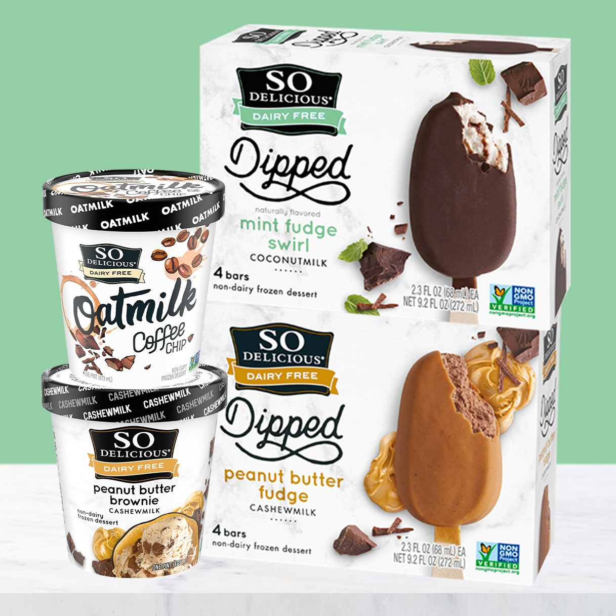 New So Delicious Frozen Dessert Products - The Latest Dairy-Free Varieties in 2021