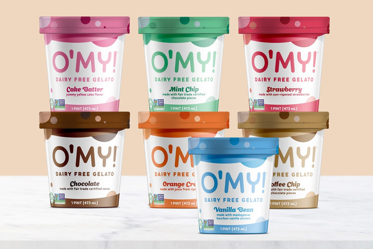 O'My Dairy-Free Gelato Reviews & Information - Vegan, Soy-Free, Pure Ice Cream in several Minimalist, Creamy Pint Flavors