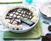 Vegan Mint Chip Ice Cream Pie to Make Everyone Shout O'MY!