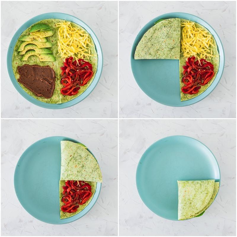 TikTok Tortilla Wrap How To