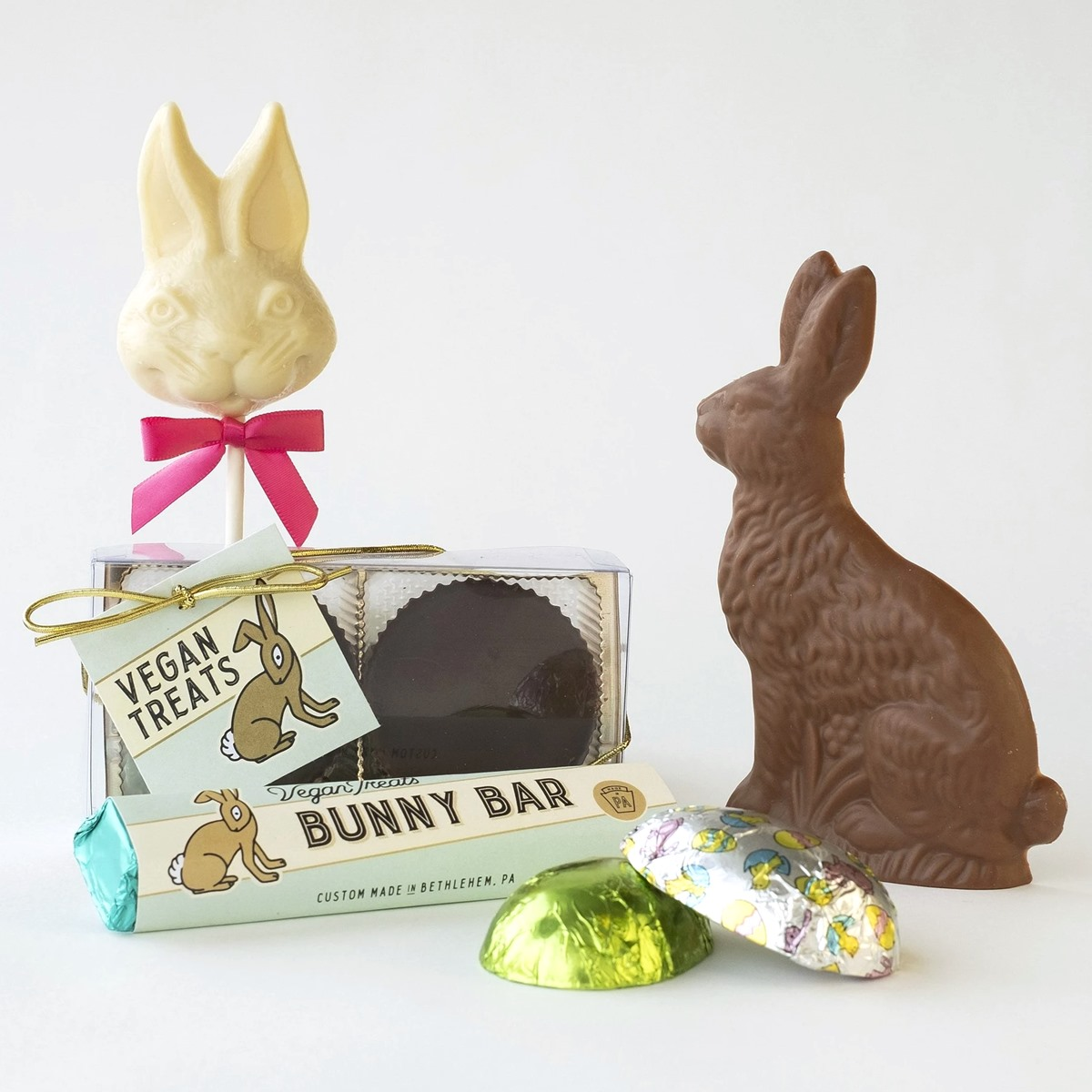 Dairy-Free Chocolate Easter Bunnies, Eggs, and More