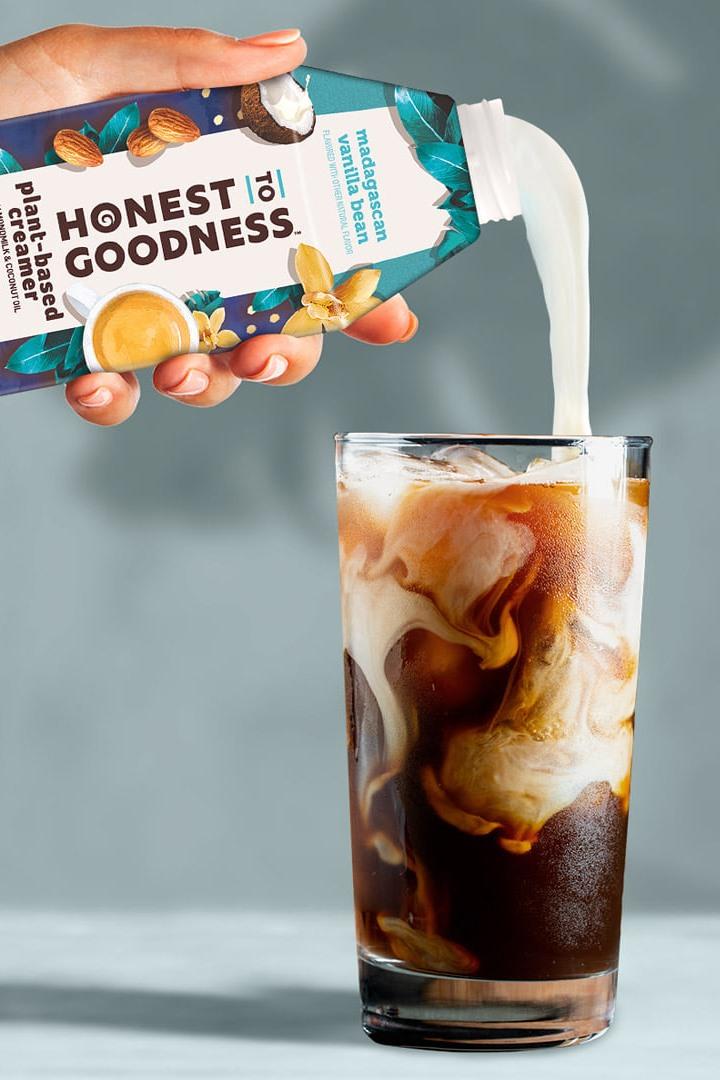 Honest to Goodness Plant-Based Creamer Reviews and Info - Dairy-free, Vegan, Gluten-free, responsibly sourced coffee creamer by Danone