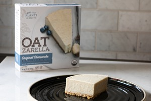 OATzarelle Cheesecakes Reviews and Info - dairy-free, gluten-free, vegan, organic, top allergen-free!