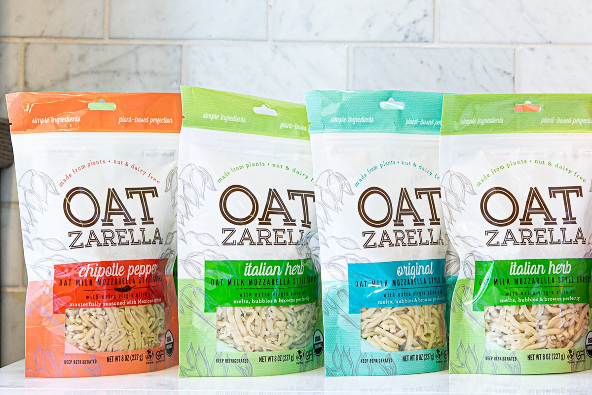 OATzarella Shredded Cheese Alternative Reviews and Info - Top Allergen Free, Vegan, Certified Organic, and Gluten-Free with Purity Protocol Oats