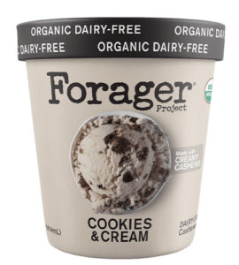 Forager Project Ice Cream Reviews and Info - simple, plant-based, gluten-free, organic frozen dessert in 5 classic flavors