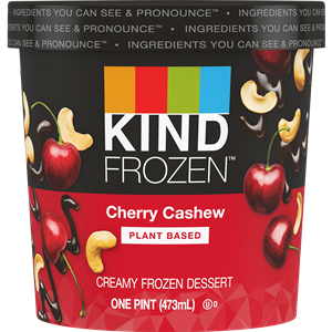 Kind Frozen Ice Cream Reviews and Info - Dairy-Free, Gluten-Free, Vegan Frozen Dessert from Kind Bar in 7 Flavors. Made with Almond Milk or Peanut Butter base.