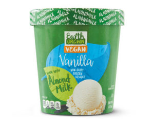 Earth Grown Almond Milk Ice Cream from ALDI (reviews and information - dairy-free, gluten-free, soy-free, and vegan)