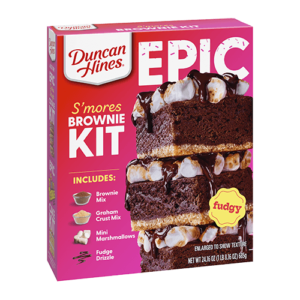 Duncan Hines Epic Baking Kits Reviews and Info (Dairy-Free Varieties)
