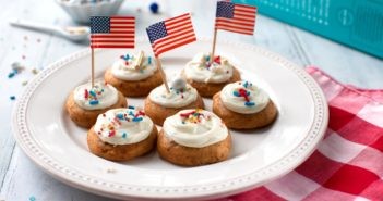 Frosted and Decorated Enjoy Life Soft Baked Cookies - Better than Cupcakes, Allergy-Friendly, Gluten-Free, and Oh-So-Easy!