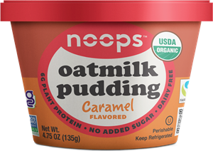 Noops Oatmilk Pudding is Organic & Allergy-Friendly - Grab a Spoon! Dairy-free, gluten-free, nut-free, soy-free, vegan dessert. Get info and read reviews here ...