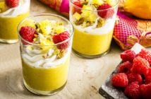 Dairy-Free Lemon Curd Dessert Cups - also gluten-free, grain-free, soy-free, and optionally nut-free