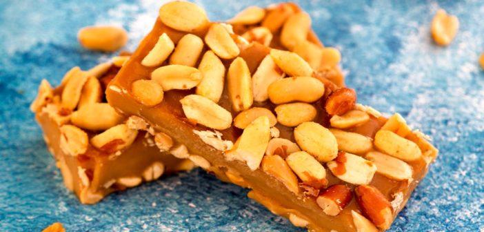 Vegan PayDay Freezer Bars are a Sweet Peanut-Caramel Reward