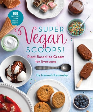 Vegan Payday Freezer Bars Recipe - A sample dairy-free, gluten-free, soy-free treat from the massive Super Vegan Scoops cookbook by Hannah Kaminsky